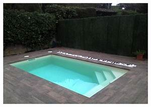 Petite piscine coque modèle RECTANGULAIRE STAR 4