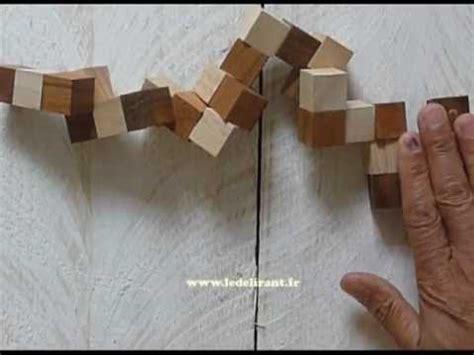 solution du casse tete le diabolicube ou snake cube
