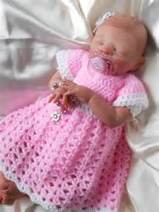 Simple Crochet Baby Dress Patterns