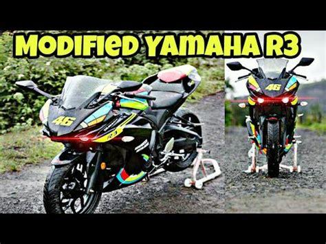 Modification Yamaha R1m by Modified Yamaha R3 Into Yamaha R1m By Autologue Designs