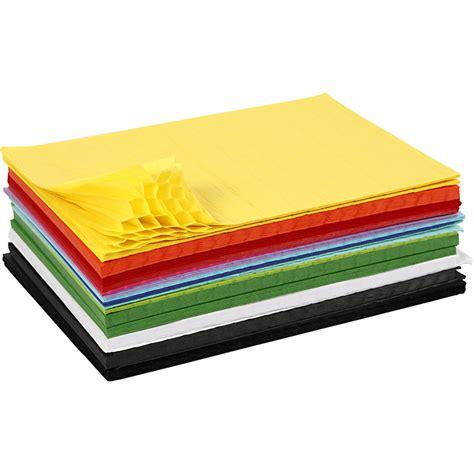 Dragspelspapper  28 X 17,8 Cm  72 St  Mixade Färger