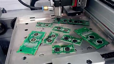 pcbcob chip auto sealing machine youtube