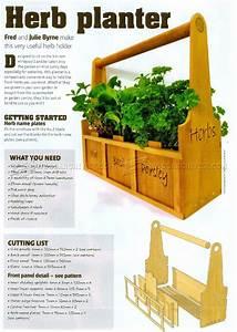 Herb Planter Plans • WoodArchivist