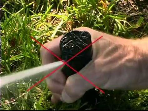 adjust rainbird  spray sprinkler head nozzles funnycattv
