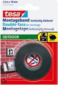 Tesa Powerbond Outdoor : tesa montagetape outdoor 5 m x 19 mm klussen ~ Frokenaadalensverden.com Haus und Dekorationen