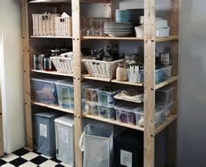 kitchen storage ideas ikea conquer your pantry sturdy gorm shelving units can support up to 110 lbs per shelf them