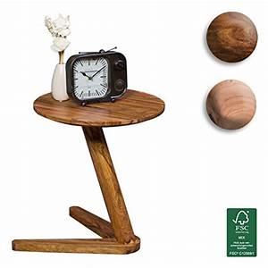 Holz Dunkel ölen : finebuy beistelltisch massiv holz sheesham design ~ Michelbontemps.com Haus und Dekorationen
