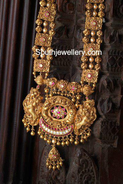 antique nakshi haram jewellery designs