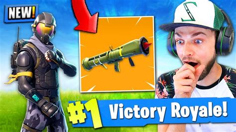 guided missile launcher coming  fortnite battle