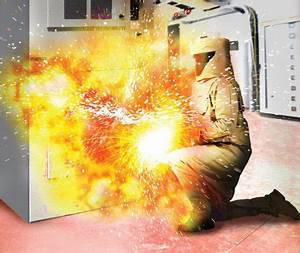 electrical safety hazards awareness with realistic work With arc flash accident