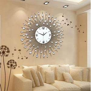 dwell of decor handmade wall clock design ideas With best brand of paint for kitchen cabinets with modern art wall clocks
