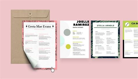 resume builder design  custom resume  canva