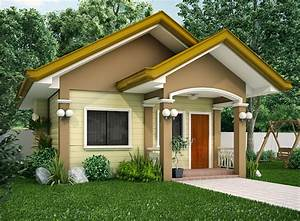 15 beautiful small house designs for Small home designs