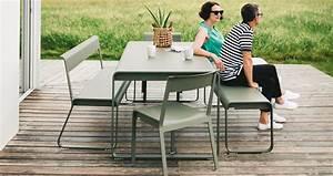 Mobilier De Jardin Fermob : table bellevie table de jardin table jardin 8 personnes ~ Dallasstarsshop.com Idées de Décoration