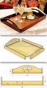 DIY Butler Tray - Woodworking Plans and Projects