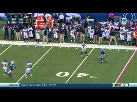 seahawks  colts  highlights youtube