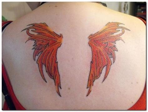 creative wings tattoo design art examples