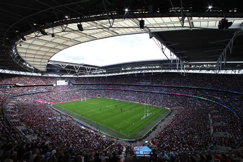record rugby world cup attendance  wembley stadium