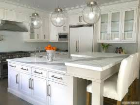 kitchen island with raised bar raised breakfast bar design ideas