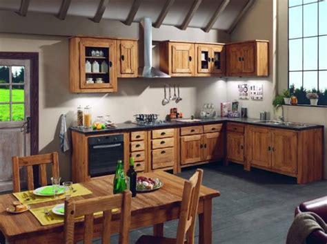 cuisine bois chalet homr deco cuisine and