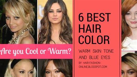 best hair color for warm skin tones best hair colors for warm skin tone and blue