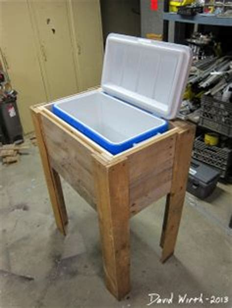 wooden ice chest plans planspincom
