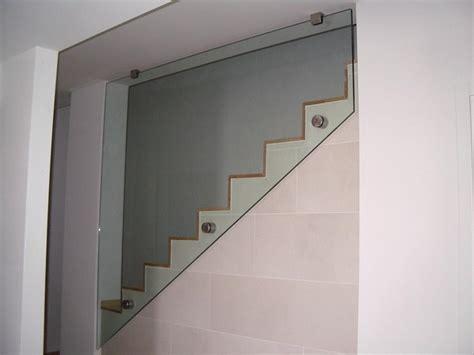 corrimano in vetro per scale parapetti scale struttura ringhiera scala carollo