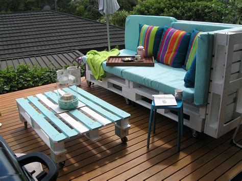 Pallet Outdoor Furniture Practicalyetchic Ideas