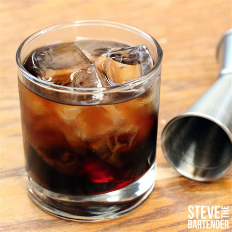 How to make a Black Russian. Find more cocktail recipes
