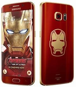 Samsung unveils Galaxy S6 Edge Iron Man Limited Edition ...