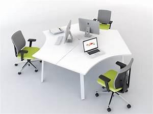 Schreibtisch Zwei Personen : schreibtisch f r 3 personen ogi a b rom bel ~ Markanthonyermac.com Haus und Dekorationen