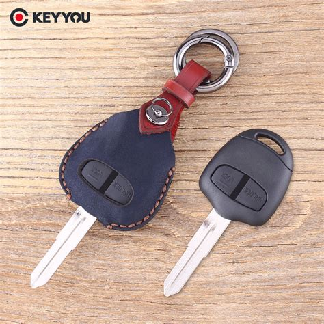 Mitsubishi Car Key Replacement by Keyyou 2 Buttons Remote Car Key Shell Replacement For