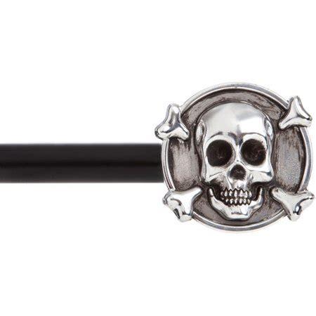 kenney manufacturing  skull  decorative drapery rod