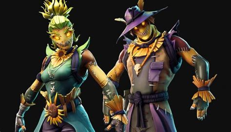 fortnite halloween skin leak reveals scarecrows