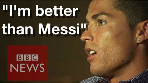who s betten cristiano ronaldo i am better than lionel messi news