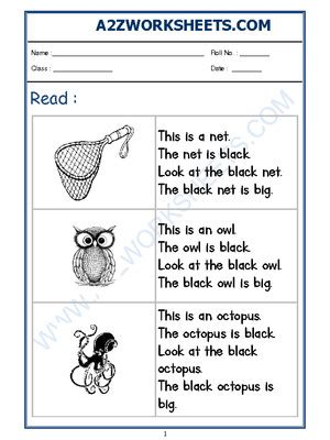 azworksheetsworksheet  english reading practice