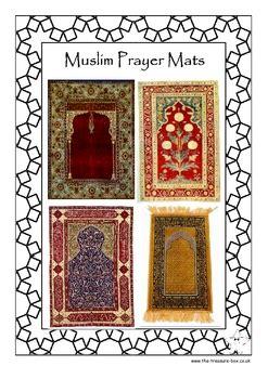 muslim prayer mats  info guide  craft activity