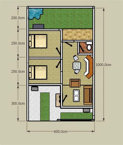 desain rumah minimalis  lantai luas tanah  model