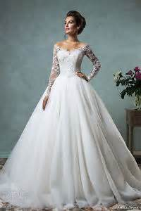 luxus brautkleider luxus kathedrale brautkleider weiß hochzeitskleid lange ärmel spitze a linie ebay