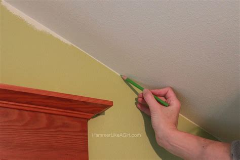 how to paint a l painting techniques wall to ceiling hammer like a