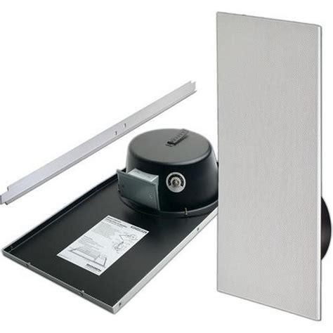 bogen csd1x2vru drop in ceiling mounted speaker with back