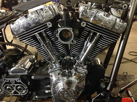 Custom Engine Engraving