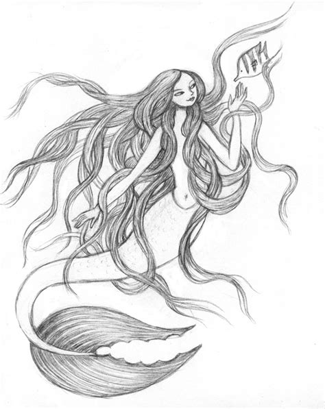 Best Easy Mermaid Drawings Ideas And Images On Bing Find What