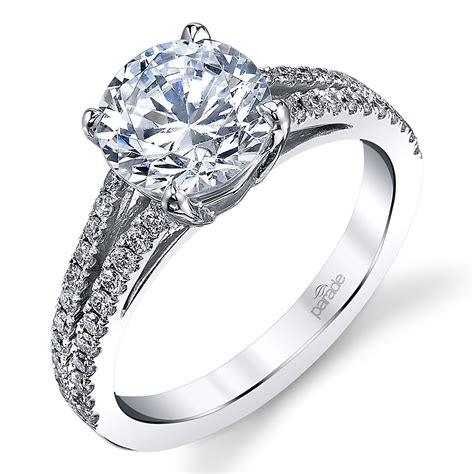 parade new classic 18 karat diamond engagement ring r3865