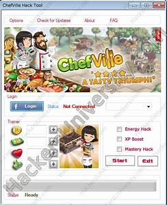 ChefVille Hack Game Hacks Pinterest