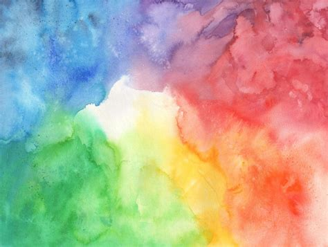 Colorful Watercolor Texture by ConnyDuck on DeviantArt