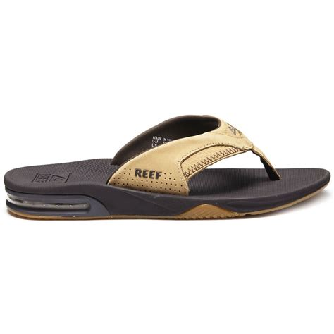 reef fanning sandals on sale reef leather fanning sandals