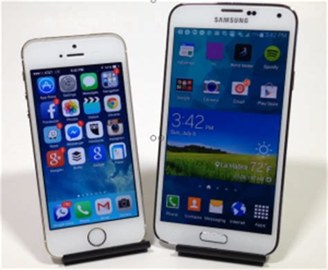 which is better iphone or galaxy top 5 reasons iphone 5s is better than samsung galaxy s5