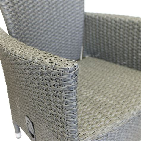 polyrattan sessel grau polyrattan sessel lea grau meliert stufenlos verstellbare r 252 ckenlehne garten gartenm 246 bel