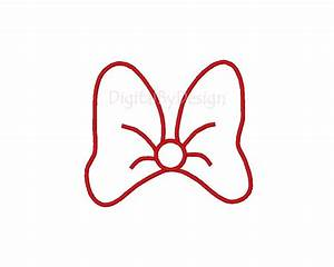 minnie mouse head outline clipartsco With free printable minnie mouse bow template